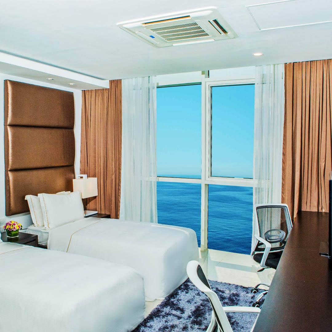 Superior City View 2-Bedroom Suite
